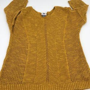 Old Navy Short Sleeve Knit Sweater sz L